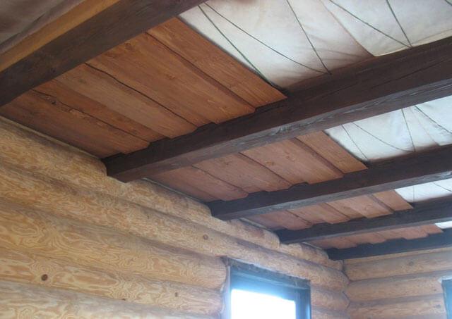шпунтованная доска для потолка