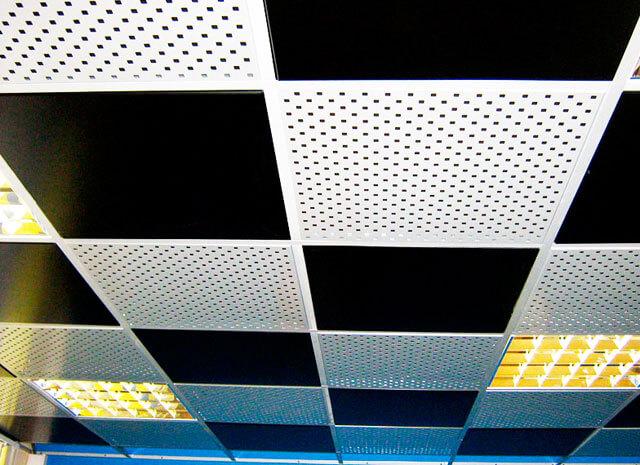 плитка для навесного потолка