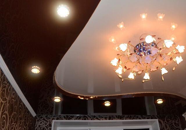 материалы для навесного потолка