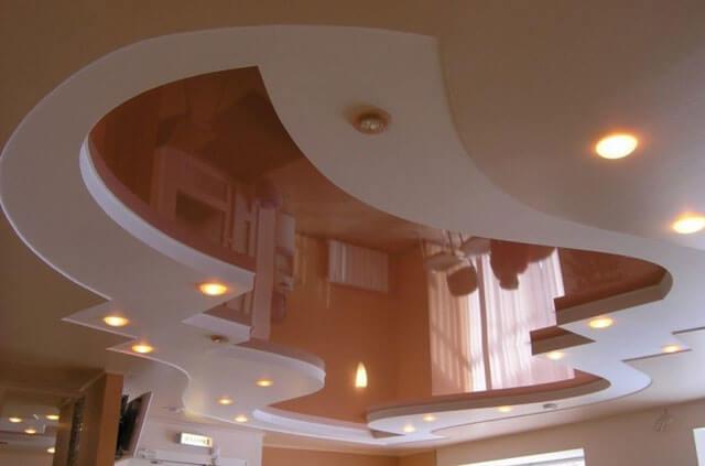 навесные потолки и натяжные потолки