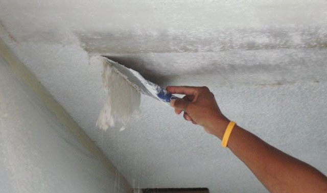 чем ровнять потолок