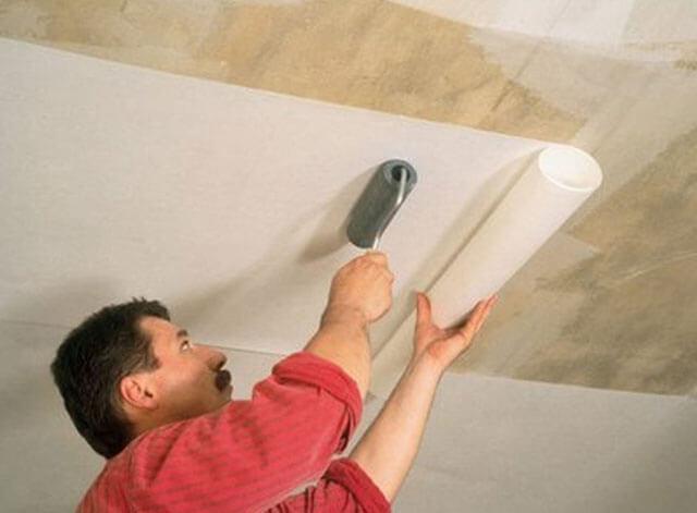 резной потолок из фанеры