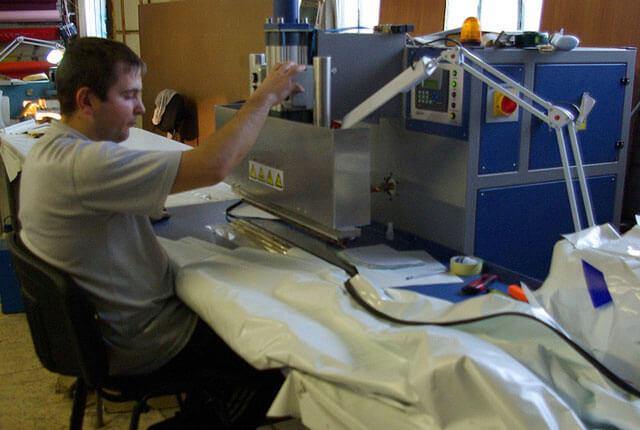 оборудование для монтажа натяжных потолков