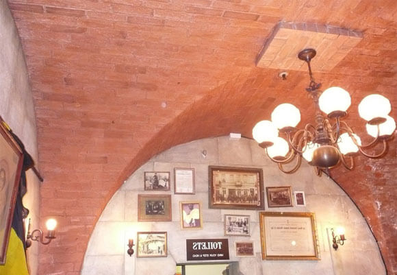 сводчатый потолок плюсы