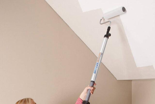 краска для потолка моющаяся