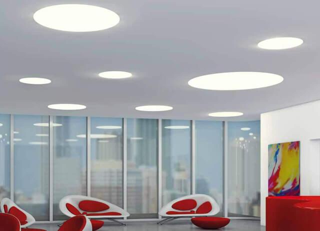 как крепить светодиодную панель к потолку