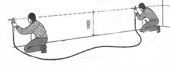 монтаж гипсокартонных потолков с подсветкой