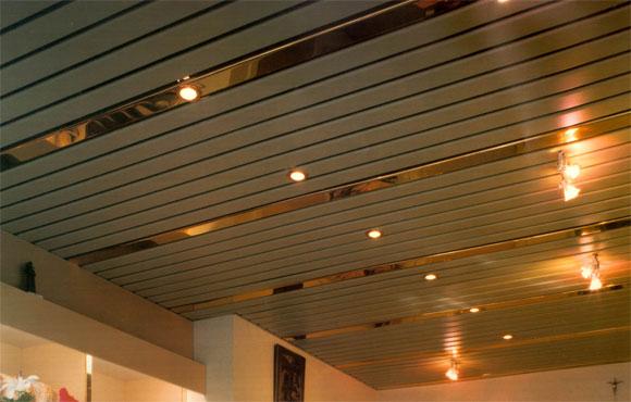 металлический подвесной потолок плюсы