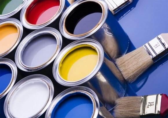 покрасить потолочную плитку