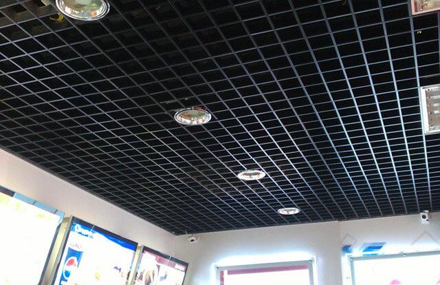 подвесные потолки с рисунком