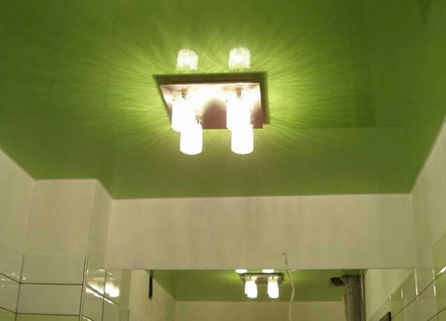 светильники потолочные для натяжных потолков в ванной