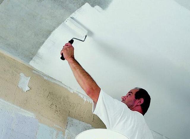вододисперсионная краска для потолка