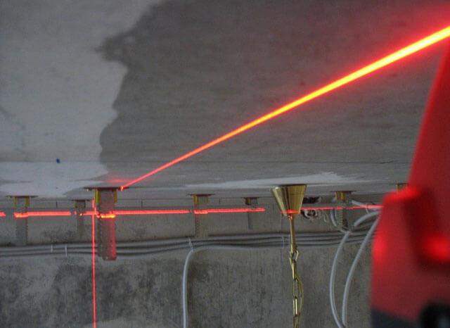 монтаж гкл на потолок технология