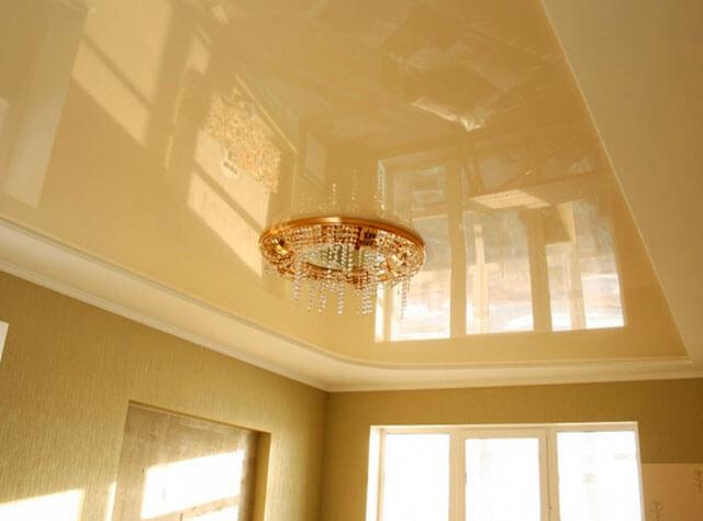 подвесной потолок и натяжной потолок