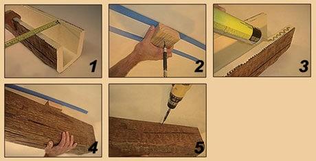 Инструкция по монтажу деревянных балок