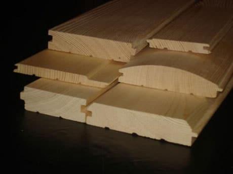 Блок-хаус для обшивки потолка