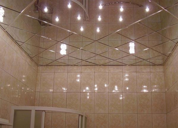зеркальные панели для потолка цена