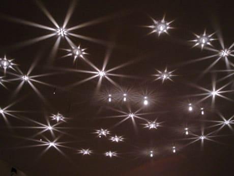 Потолок с эффектом звездного неба