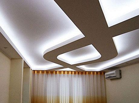 Подсветка светодиодами потолка