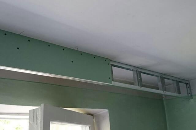 короб для подвесного потолка
