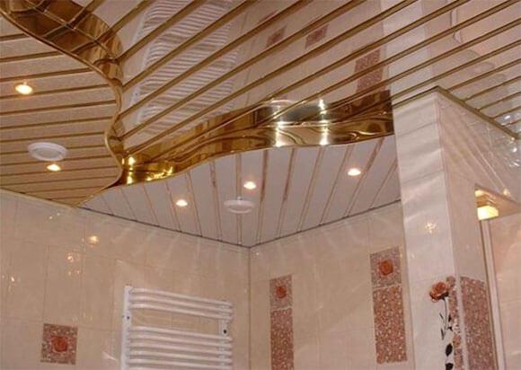 алюминиевые потолки монтаж
