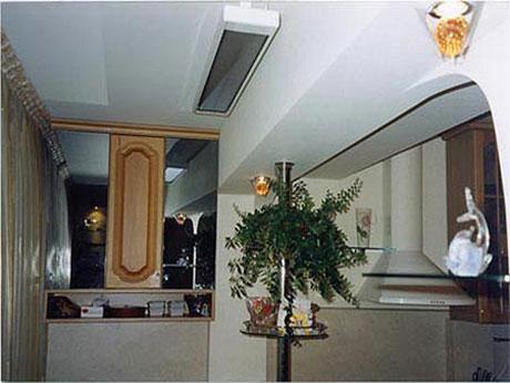 Потолочный обогреватель на балконе