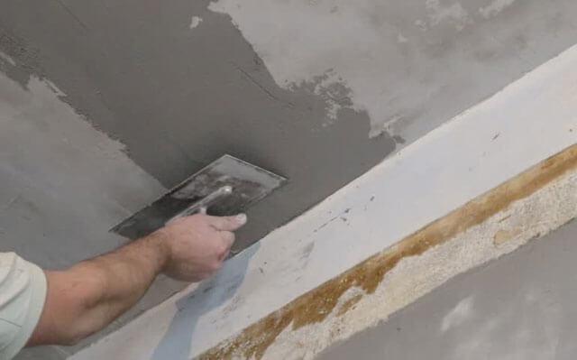 как ровнять потолки