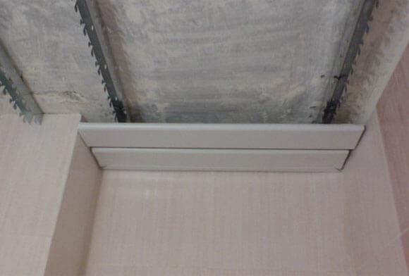 инструкция по монтажу реечного потолка