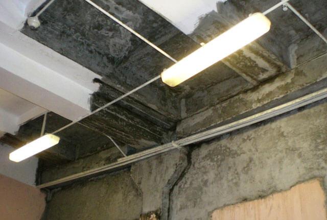 герметизация потолка