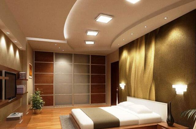 как закрепить светодиодную панель на потолке