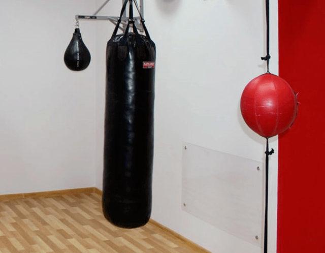Для тренировок нужно не меньше 2 м свободного пространства
