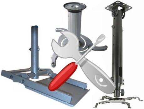 инструменты для установки держателя