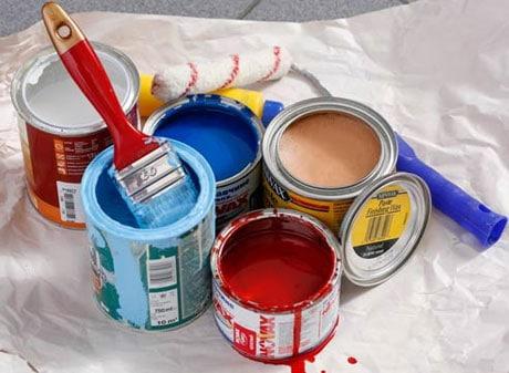 Краска для потолка кухни