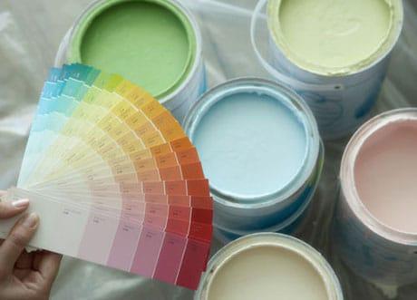 Краска снежка для покраски потолка