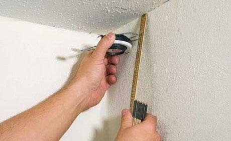 Оазметка под гипсокартонный потолок