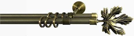 Декоративный металлический карниз