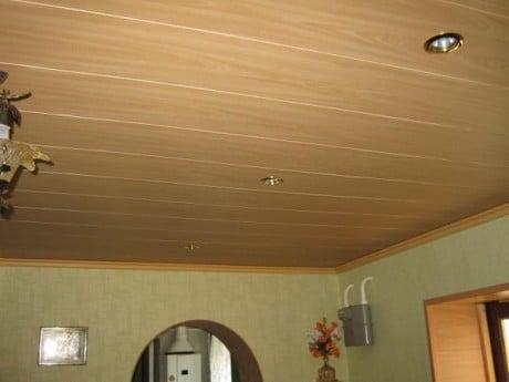 имитация потолка под дерево