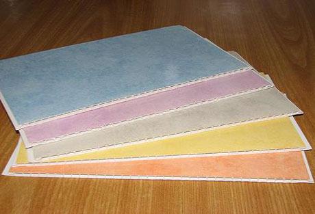 Цветные пластиковые панели