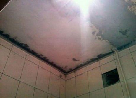 Подготовленный потолок для установки панелей