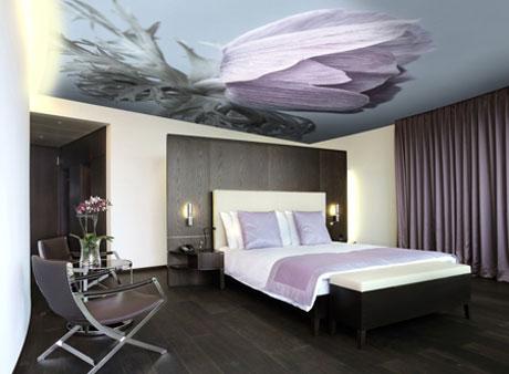 Полиэстеровая ткань для потолка
