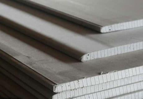 Листы гипсокартона для подвесного потолка