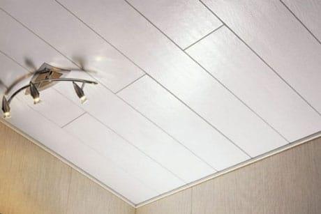 Потолочная плитка из пластика