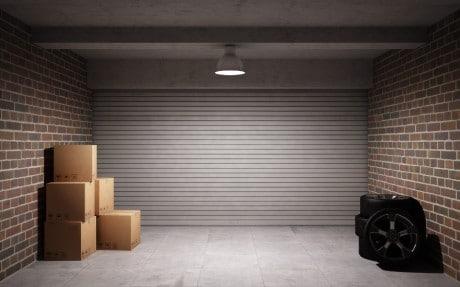 интерьер в гараже