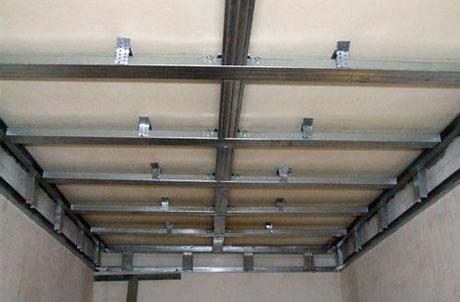 Каркас для панельного потолка