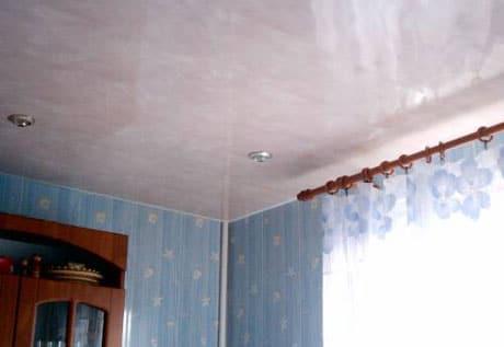 Панельный потолок с подсветкой