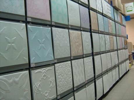 Разнообразие панелей из пенопласта