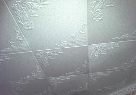 Панели из пенопласта на потолке