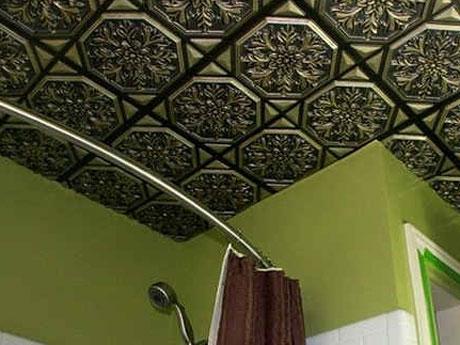 Пенопластовые панели в ванной