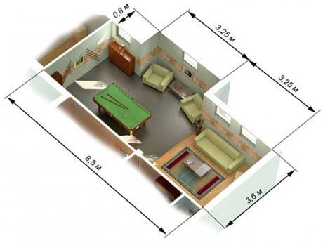 Замеры комнаты