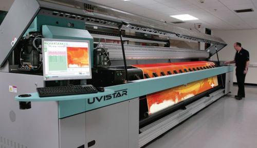 Принтер для печати на текстильных потолках